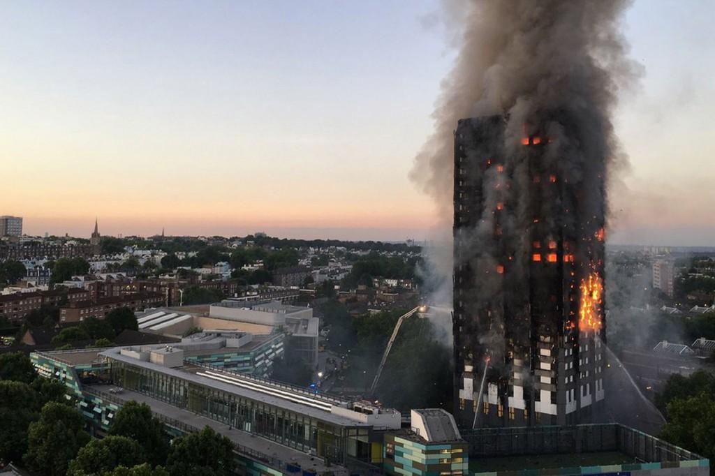 skyscraper fire